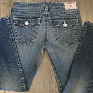 "True Religion ""Julie"" skinny jeans 30"